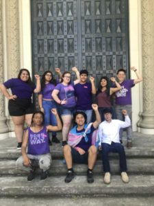 Youth Council Leaders Testify in Sacramento