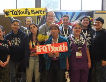Trans and queer youth leaders from Northern California