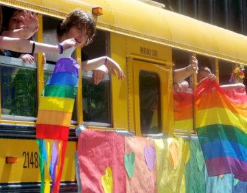 GSA club students show their pride